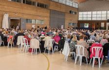 Unes 300 persones participen a la Trobada d'Associacions de la Gent Gran del Tarragonès