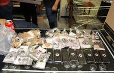 Durant l'operació van localitzar múltiples productes elaborats amb cannabis.