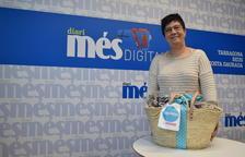 Belén Hernández és la guanyadora de la cistella Caprabo i Diari Més
