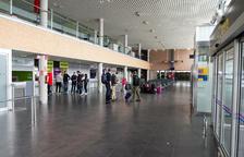 Una imatge d'arxiu de l'interior de les instal·lacions de l'Aeroport de Reus.
