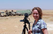 La reusenca Alba Sotorra filma les guerrilleres kurdes: feminisme entre les bales