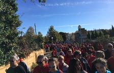Més de 425 persones participen en la caminada per l'Anella Verda de la Canonja