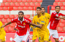 Imagen de Fali en una jugada del partido contra el Alcorcón, disputado en el Nou Estadi el pasado mes de octubre.