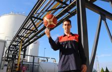 David Fernández, el capità del CBT que combina el bàsquet amb models matemàtics per la producció de gasos