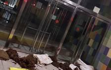 Els CDR bolquen fems a set jutjats contra l'actuació de la justícia