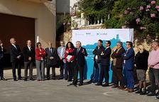 La Diputació de Tarragona i CaixaBank instal·len caixers automàtics en 12 pobles del territori