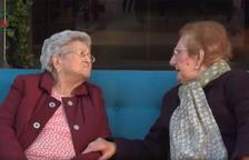 Dos tarraconenses centenarias protagonizan el anuncio promocional del carillón del MErcat Central