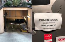 Imatge de l'aparcament de l'Avinguda Catalunya de Tarragona.