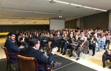 El abogado Jaume Alonso-Cuevillas presenta Junts per Riudoms