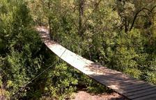 Caminar sobre un puente colgante y descubrir las rocas gigantes de Los Tres Jurados
