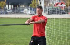David Querol ya entrena con el grupo y podría participar contra el Mallorca