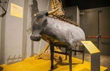 Reus completa la restauración del antiguo Bou de Foc y lo incorpora a la exposición 'Ara toca festa'