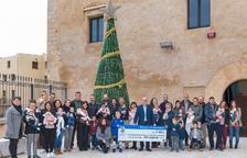 Treinta familias de la Canonja reciben el Xec Nadó este 2018