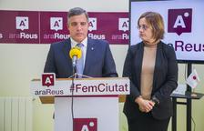 Jordi Cervera (Ara Reus) va comparèixer ahir a la seu del partit.