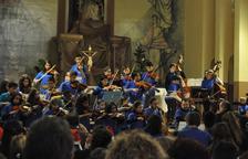 Els grups de l'Escola de Música de Cambrils faran dimecres un concert per La Marató
