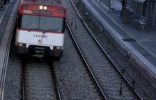 La circulació de trens a l'R13 i R14 entre Lleida i l'Espluga de Francolí seguirà interrompuda fins a mitjans de maig