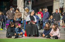 El 'Conte del Trencanous' a la plaça del Mercadal de Reus