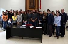 Frente común de los alcaldes de la Ribera de Ebro para rechazar del depósito de residuos no peligrosos de Riba-roja