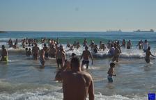 L'AVV del Port suspèn la celebració del Bany de Sant Silvestre 2020