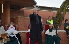 Ballesteros entrega les claus dels barris de Ponent als Reis Mags