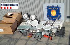 Detinguts tres homes per robar eines i material elèctric en un habitatge de Tortosa