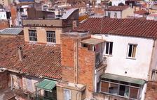 Imagen de algunos de los edificios afectados, recogida en el proyecto.