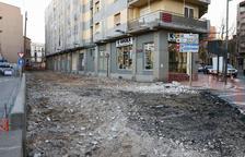 Las obras de la Sang cerrarán el circuito comercial del Tomb de Ravals de Reus