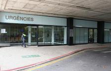 L'entrada a les urgències del centre reusenc.