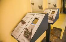 Un caixonet d'almoines digital que està exposat a la seu de l'Arquebisbat de Tarragona.