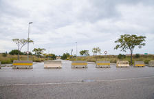 El PP9 està urbanitzat, però les parcel·les continuen buides.