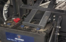 Las baterías sumaban un valor económico de más de 500 euros.
