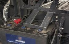 Les bateries sumaven un valor econòmic de més de 500 euros.