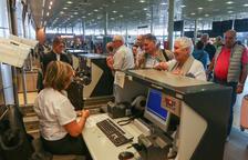 Una imatge d'arxiu de les instal·lacions de l'Aeroport.