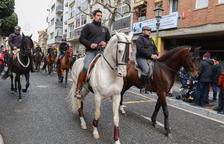 Cambrils celebra los tradicionales Tres Vuelcos de Sant Antoni
