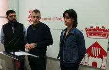 Ramon Bel, Inés Martí i Adam Tomàs,
