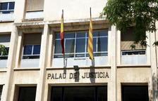 Imatge d'arxiu del Palau de Justícia de Tarragona.