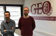 Aaron Gutiérrez i Antoni Domènech, autors de la investigació.