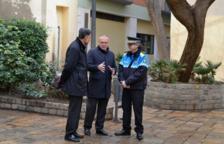 L'alcalde de Reus, Carles Pellicer, exposant el balanç de dades de la Guàrdia Urbana el 2018.