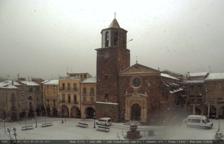 La neu arriba a Prades