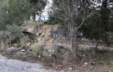 La Societat Arqueològica alerta del peligro de destrucción de un tramo de acueducto romano