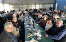 La gent gran del Morell dóna la benvinguda al 2019 amb un dinar