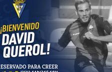 El Cádiz anuncia el fichaje de David Querol