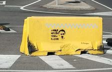 «Adolf Hitler tenia raó», la pintada que ha aparegut a Tarragona