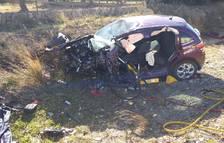 Accident mortal a l'N-340, a l'Ampolla