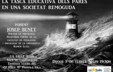 La Salle Reus acollirà una xerrada sobre la tasca educativa dels pares