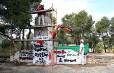 Retiraran un monument feixista italià a Horta per petició del ministeri