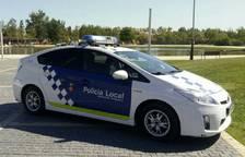 Imagen de un vehículo de la Policía Local de Amposta.