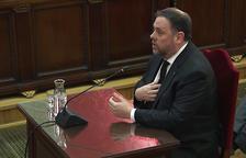 Tres magistrados del TC rompen la unanimidad para avalar la prisión preventiva de Junqueras