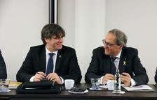 La germana de Puigdemont nega haver participat en cap reunió amb els CDR detinguts per fer d'enllaç amb Torra