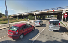 Dos ferits en una topada entre una furgoneta i un cotxe a Icomar